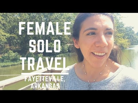 FAYETTEVILLE SOLO TRAVEL | Day Trip To Arkansas