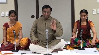 Carnatic Music Lesson - Rare Varnams - Taught by Chitravina N Ravikiran