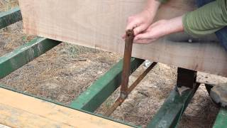 Homemade Portable Sawmill Build Part4 - Country Living -