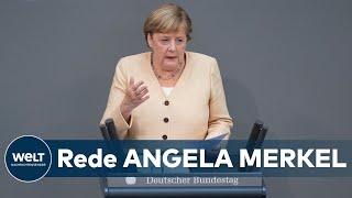 """ANGELA MERKEL im Bundestag: """"entscheidende Fortschritte"""" bei Digitalisierung"""