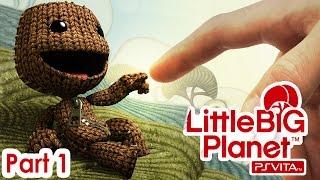 LittleBigPlanet Vita Walkthrough | Part 1 | La Marionetta - Introduction