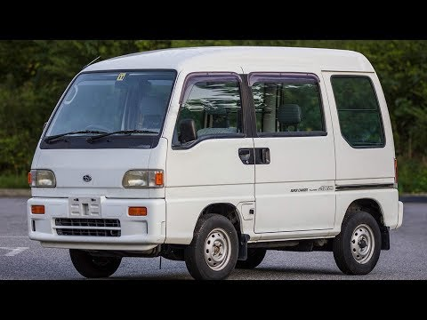 ATL JDM's 1991 Subaru Sambar SUPERCHARGED (How Kei Vans Handle US Highways) Walk Around