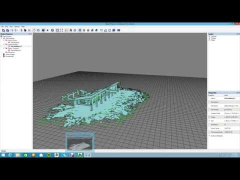 SURVEY SOLUTIONS- ZEB1 3D model using Pointfuse software