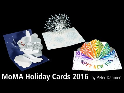 MoMA Holiday Cards 2016 by Peter Dahmen