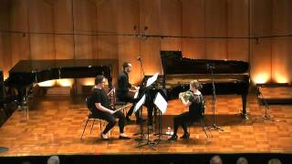 Friedrich Goldmann Trio for Horn, Violin & Piano