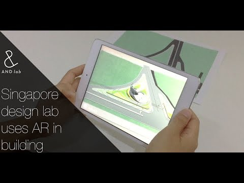 Singapore based design lab uses AR in Building Design Visualisation