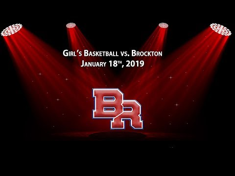 Brockton @ BR - Girls Basketball, Jan 2019