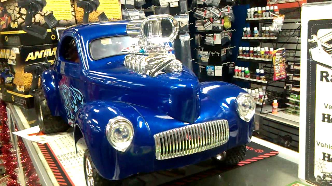 rc car hot rod 2wd stampede converted and stretched out. Black Bedroom Furniture Sets. Home Design Ideas