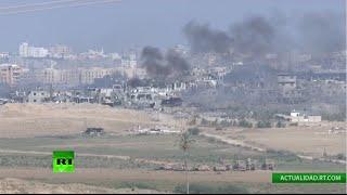EN DIRECTO: Transmisión desde la Franja de Gaza e Israel