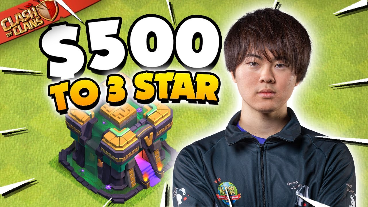 I Challenged Pro Player GAKU to 3 Star for $500!