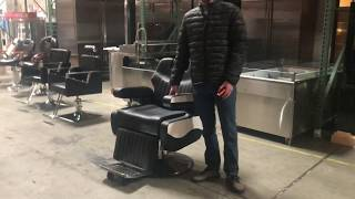 Salon Chair Shampoo Barber Shop Hair Dressing Salon station Mirror Waiting chairs