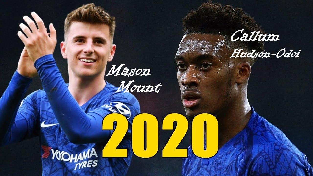 Mason Mount & Callum Hudson-Odoi - Skills 2020 - YouTube
