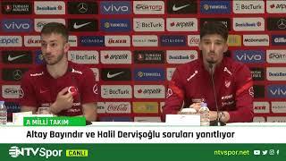 CANLI - Altay Bayındır ve Halil Dervişoğlu basın toplantısı düzenliyor