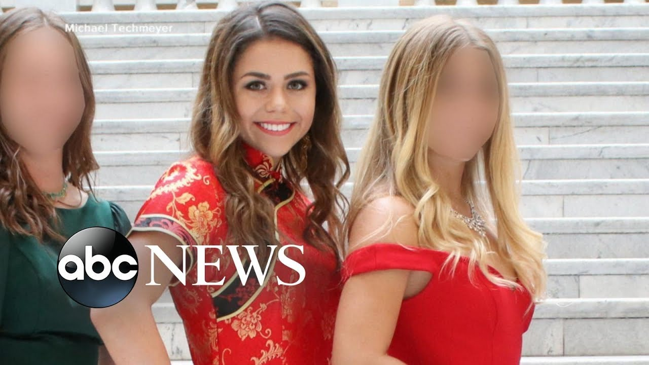 2132e494b30 Teen defends Chinese prom dress that sparked backlash - YouTube
