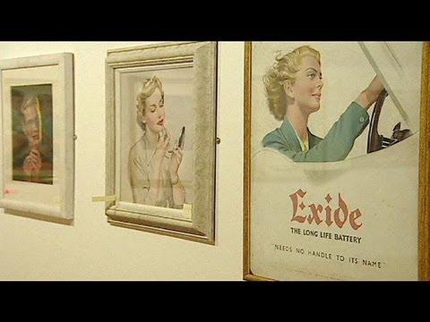 Lisbonne : exposition d'affiches publicitaires du XXème siècle