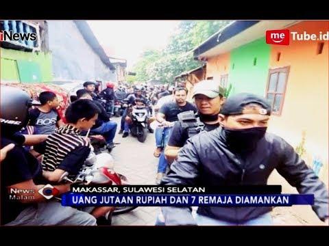 Polrestabes Makassar Gerebek 'Kampung Narkoba' Sapiria, 7 Remaja Diamankan - iNews Malam 01/12