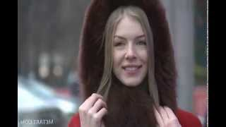 Anjelica, porn star wanders for the streets of Moscow