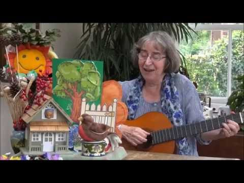 Little Robin Redbreast Sat Upon A Rail - A Hand Play Rhyme