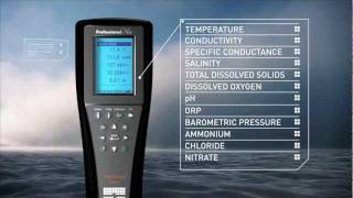 YSI Professional Plus Multiparameter Water Quality Meter Video