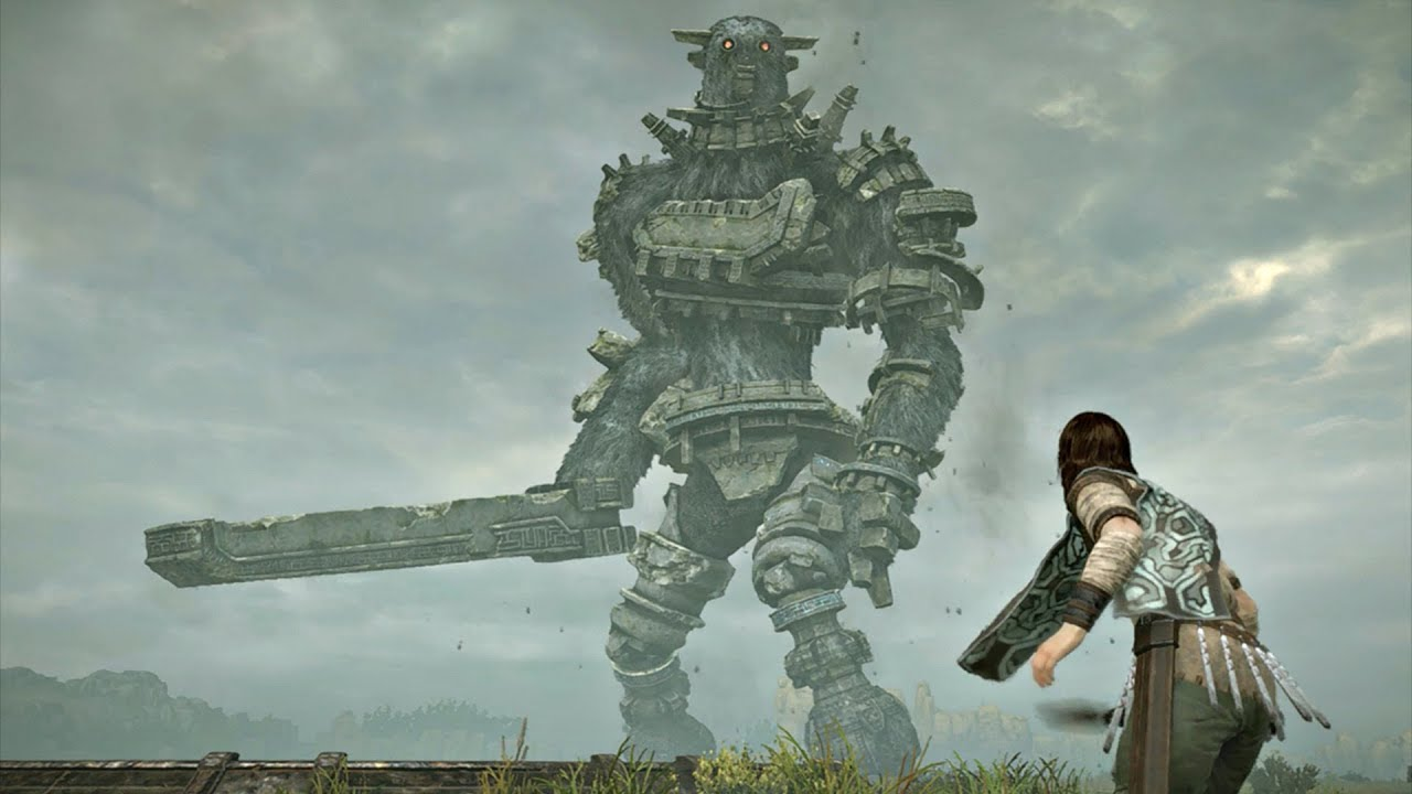 Shadow of The Colossus PS4 Remake - Gaius Boss Fight #3 ...