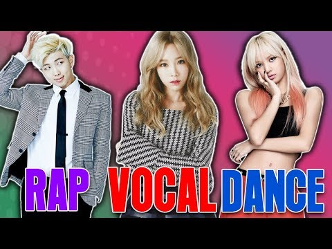 The KINGS and QUEENS OF KPOP -  Dance Vocal Rap Visual etc