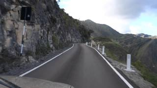Driving at 4000m Andes Mountains Peru 2