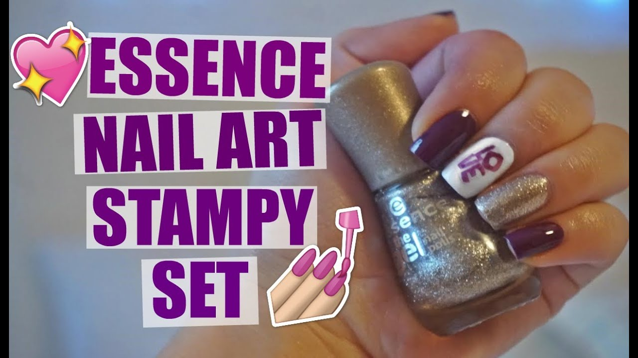 Essence nail art stampy set mireyaaxo youtube essence nail art stampy set mireyaaxo prinsesfo Images