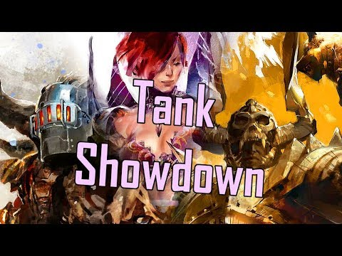 Guild Wars 2 - Tank Showdown l Guardian v. Warrior v. Scrapper v. Chronomancer l thumbnail