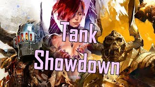 Guild Wars 2 - Tank Showdown l Guardian v. Warrior v. Scrapper v. Chronomancer l