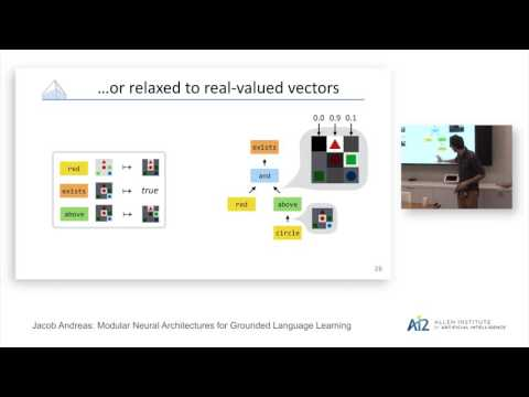 Jacob Andreas: Modular Neural Architectures for Grounded Lan