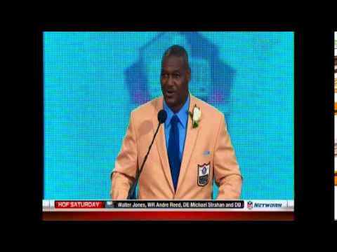 NFL: Hall of Fame: Class of 2014: Derrick Brooks Enshrinement Ceremony Speech