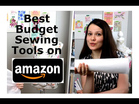 5 Budget Sewing Tools On Amazon! 2019