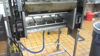 how to break down the b.k. broiler