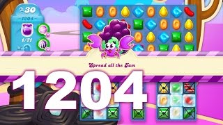 Candy Crush Soda Saga Level 1204 (No boosters)