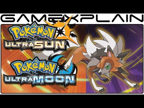 Pokémon Ultra Sun & Ultra Moon - Learn More About Dusk Form Lycanroc + How to Obtain It