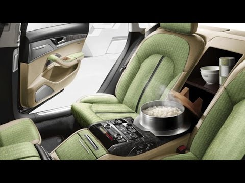 Audi A8 5 5 With Rice Cooker Launched In Japan - YouTube