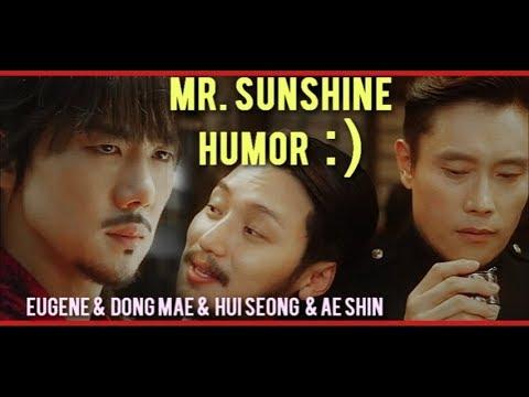 Download Mr. Sunshine [HUMOR] ☆ Dong mae & Eugene & Hui seong & Ae shin ☆ 미스터 션샤인