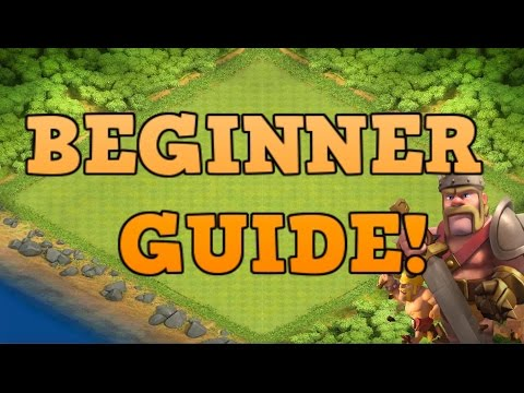 CLASH OF CLANS BEGINNER GUIDE/WALKTHROUGH - TOWNHALL 1 - 4