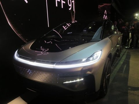 CES 2017: Faraday Future Unveils Super Fast Electric Car