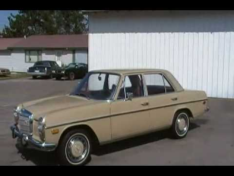 73 mercedes benz 220 s 300 saloon 4 cyl gas youtube for Mercedes benz rt 22