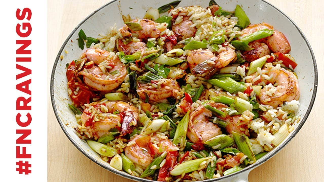Cajun shrimp and rice food network youtube cajun shrimp and rice food network forumfinder Gallery