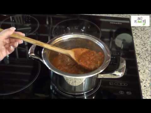 Μακαρόνια με κόκκινη σάλτσα - Makaronia Me Kokkini Saltsa - StoPikaiFi.gr