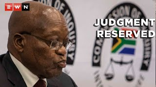 The Constitutional Court has reserved judgement in the former President Jacob Zuma matter. The state capture commission is asking the Constitutional Court to find Zuma guilty of contempt of court, and if found guilty, to jail him for two years. This after Zuma refused to appear before the commission of inquiry into alleged state capture.
