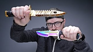 VIDEO GAME KNIVES IN REAL LIFE(Today's Mystery Video - https://youtu.be/DOiaxdNPvd4?list=PL7u4lWXQ3wfI_7PgX0C-VTiwLeu0S4v34 Elemental Knives - https://elementalknives.com/ Today ..., 2016-06-16T16:00:04.000Z)