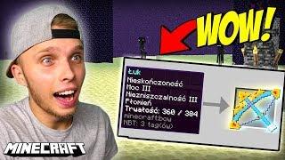 NAJPOTĘŻNIEJSZA BROŃ jaka ISTNIEJE w Minecraft! *Smok był w szoku*