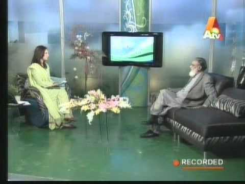 Sultan Bashir-ud-Din Mahmood in A Morning with Farah on ATV