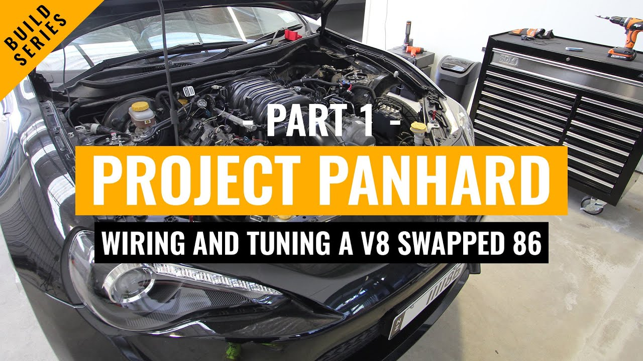 wiring and tuning project panhard part 1 1uzfe v8 powered toyota 86 scion frs [ 1280 x 720 Pixel ]
