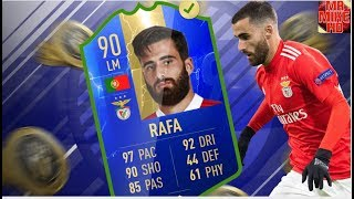 FIFA19|OMG!NEW (90) TOTS RAFA SILVA PLAYER REVIEW!IS HE WORTH OVER 100,000 COINS?
