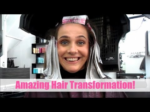 COME TO THE HAIRDRESSERS WITH ME | AMAZING HAIR TRANSFORMATION | DARK BROWN TO GOLDEN BROWN