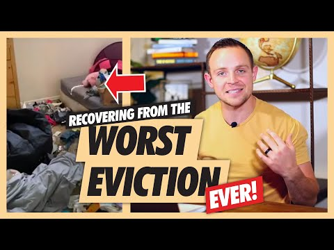 THE WORST EVICTION EVER   The Aftermath and Cleanup   Real Estate Investing